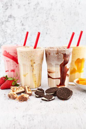 Burgerd milkshakes