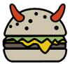 burger logo only